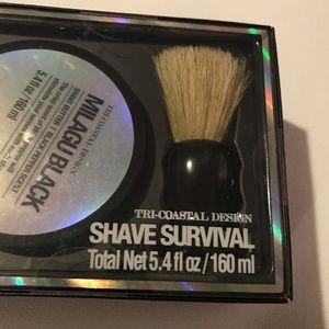 Brand new shaving kit for men.
